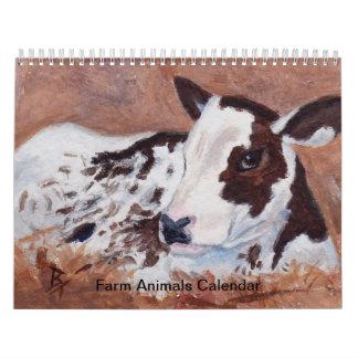 Farm Animals Calendar