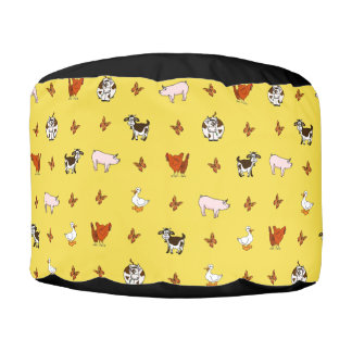Farm Animals Pouf