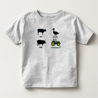 Farm Animals & Tractor Sound Shirt