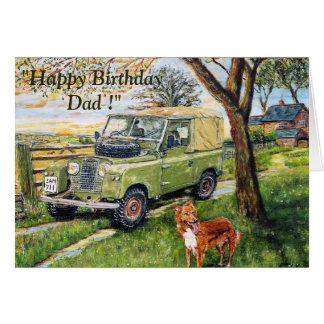 """""""FARM"""" Birthday Card For Dad"""