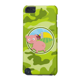 Farm bright green camo camouflage iPod touch 5G covers