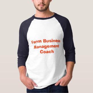 Farm Business Management Coach T-Shirt