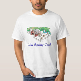 farm, Cedar Spring Creek T-Shirt