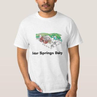 farm, Cedar Springs Dairy Tshirts