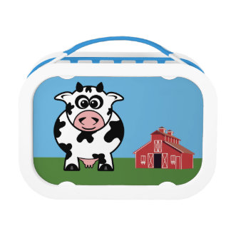 Farm Cow Lunch Box