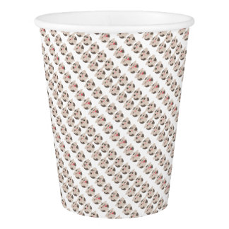 farm emojis - cow paper cup