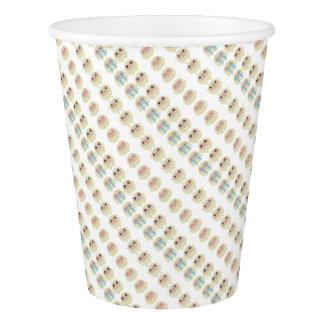 farm emojis - lamb paper cup