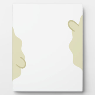 farm emojis - lamb plaque