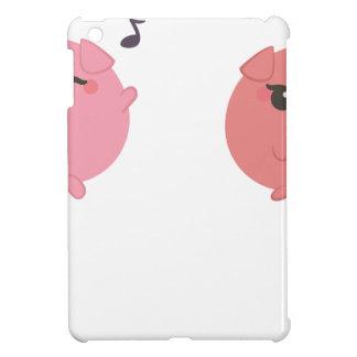 farm emojis - pig iPad mini cover