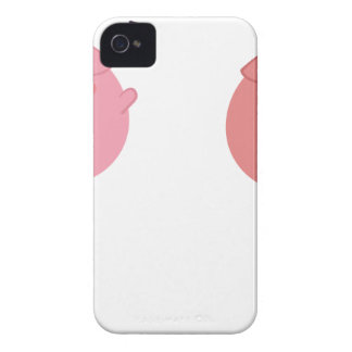farm emojis - pig iPhone 4 cover