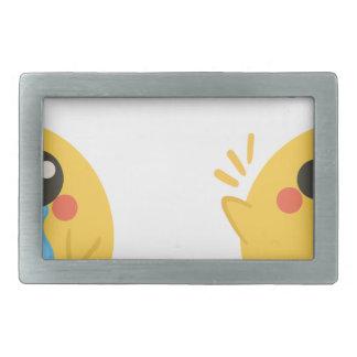 farm emojis - they chicken belt buckles