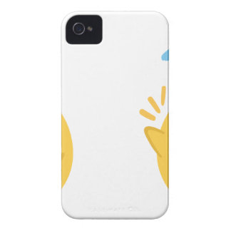 farm emojis - they chicken Case-Mate iPhone 4 case