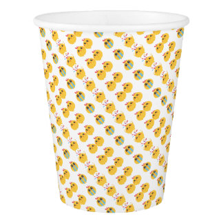farm emojis - they chicken paper cup