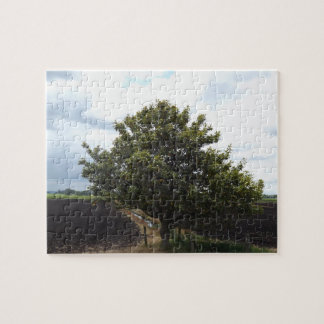 farm fields tree jigsaw puzzle