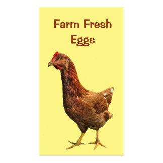 Farm Fresh Eggs Business Card