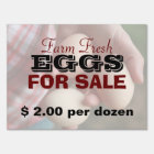 Farm Fresh Eggs For Sale 2 Sign