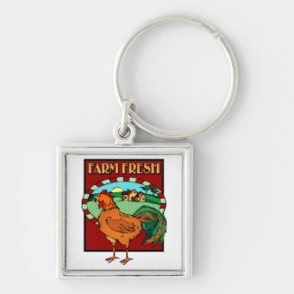 Farm Fresh Key Chain