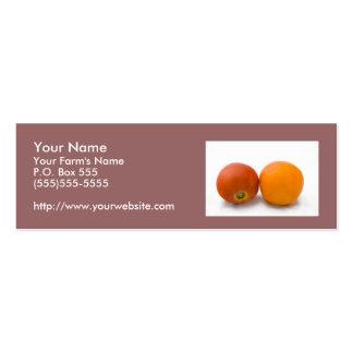 Farm Fresh Produce Slim Business Card