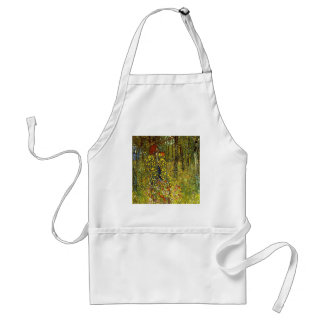 Farm Garden with Crucifix by Gustav Klimt Standard Apron