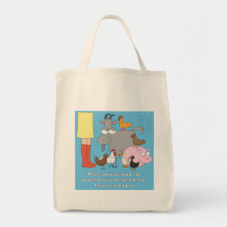 Farm Girl Grocery Bag