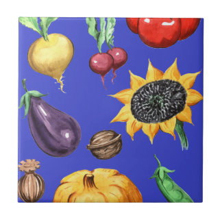 Farm Harvest Ceramic Tiles