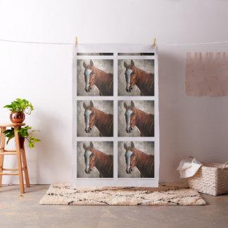 Farm House Ranch Sorrel Horse Fabric