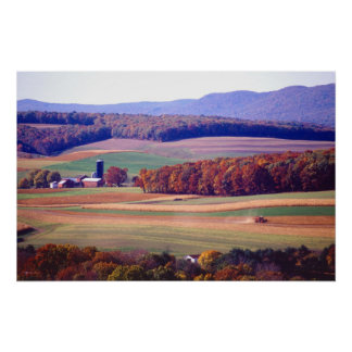 Farm in Pennsylvania Poster