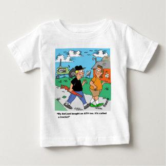 Farm Kids ATV /Tractor Cartoon Baby T-Shirt