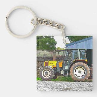 FARM LIFE Single-Sided SQUARE ACRYLIC KEYCHAIN