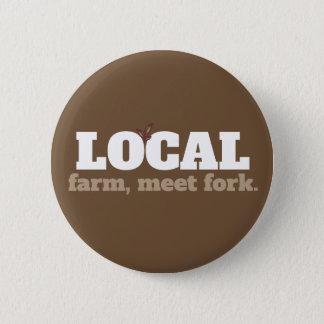 Farm, Meet Fork Local Food Button
