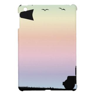 Farm Morning Sky iPad Mini Covers