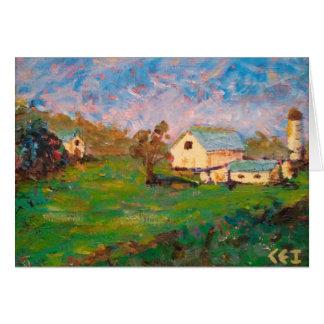 Farm on Mt. Zion Rd. Card