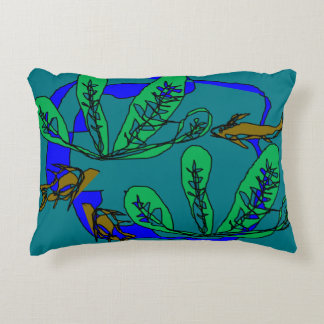 Farm Pond Accent Pillow