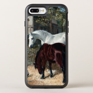 Farm Scene with Horses OtterBox Symmetry iPhone 7 Plus Case