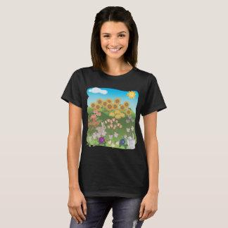 Farm scene Women's Basic T-Shirt
