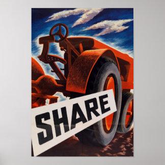 Farm Share Poster