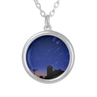 Farm Stars Silver Plated Necklace