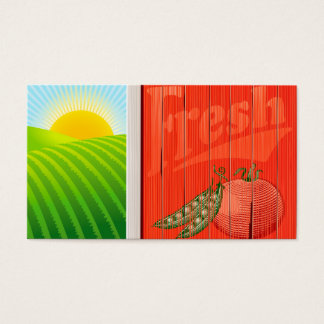 Farm Sunrise business card