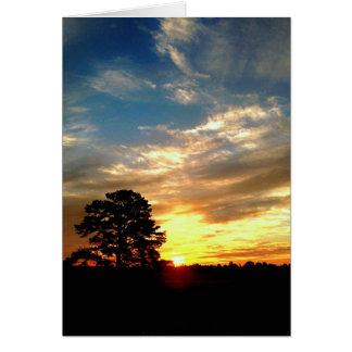 Farm Sunrise Card