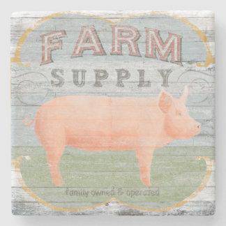 Farm Supply Stone Coaster