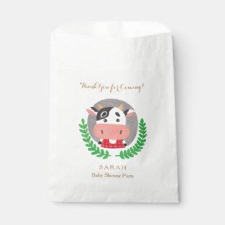 Farm Theme - The Cute Cow Favor Bag