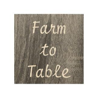 Farm to Table Art