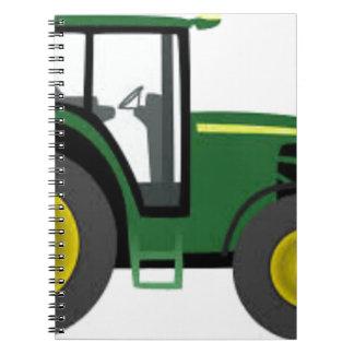 Farm Tractor Notebook