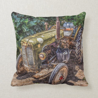 Farm Tractor Pillow