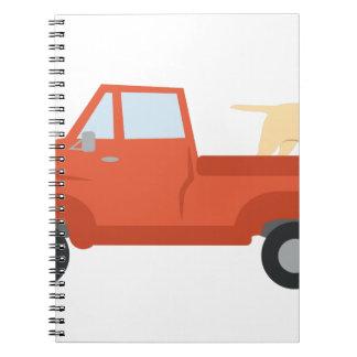 Farm Truck Spiral Note Books