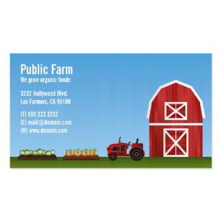 Farm Vegetable Farmer Business Card