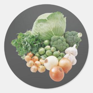 Farm Vegetables Stickers