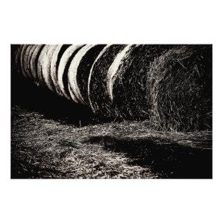 Farm work photo print