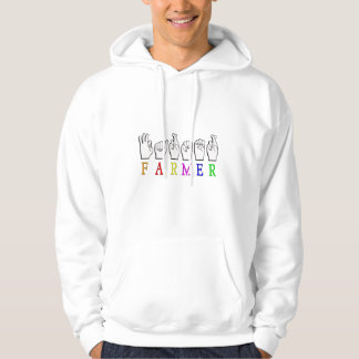 FARMER FINGERSPELLED ASL NAME SIGN HOODIE