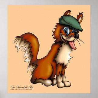 Farmer Fox, print